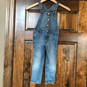 Babygap girls denim overalls 4t